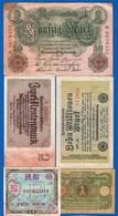 Allemagne  10  Billets - 1918-1933: Weimarer Republik