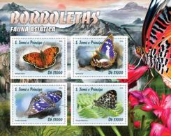 Sao Tome 2016  Fauna Butterflies - Sao Tome And Principe