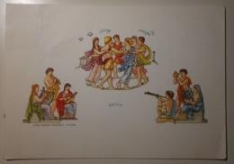 """Greece-Grece-Hellas, Grecia - Danze """"Leggendaria Danza Classica A Giro Tondo"""" - Casa Mamma Domenica - 1958 - Grecia"""