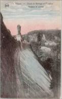 LA GILEPPE - Coupe Du Barrage Et L'Escalier - Gileppe (Stuwdam)