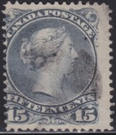 Canada     .   SG  .    68    .    O    .     Cancelled     .   /    .   Gebruikt - 1851-1902 Regering Van Victoria