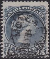 Canada     .   SG  .    69    .    O    .     Cancelled     .   /    .   Gebruikt - 1851-1902 Regering Van Victoria