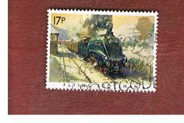 GRAN BRETAGNA (UNITED KINGDOM) -  SG 1272  -  1985  FAMOUS TRAIN:  FLYING SCOTLAND - USED - 1952-.... (Elizabeth II)