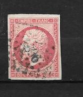 France:Y & T N°17A L Très Jolie Pièce Sans Défaut Cote 140,00€ - 1853-1860 Napoleon III