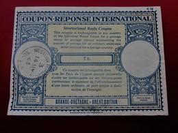 SUSSEX- UK GRANDE-BRETAGNE GREAT-BRITAIN 1963 International Reply Coupon-Réponse International C22 - 1S  Cachet à Date) - Entiers Postaux