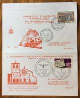 FERROVIA TRANSALPINA MOSTRA 70 ANNIVERSARIO AMBULANTE MILANO-TRIESTE A 1/11/1969   CONGRESSO NAZ. FERROVIERI FILATELICI - Francobolli