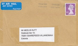 GOOD GB Postal Cover To ESTONIA 2019 - Good Stamped: Elizabeth II - 1952-.... (Elizabeth II)