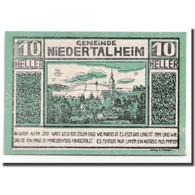 Billet, Autriche, Niederthalheim, 10 Heller, Paysage, 1920, 1920-04-21, SPL - Autriche