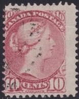 Canada     .   SG  .    110   .    O    .     Cancelled     .   /    .   Gebruikt - 1851-1902 Regering Van Victoria