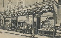 Saint Junien Bazar G. Cintra Galerie Universelle Cartes Postales  Chapeaux Peche Chasse - Saint Junien