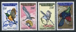 1967- CONGO- BIRDS- 4 VAL.  -M.N.H.- LUXE !! - Neufs