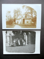 Due Fotocartoline Originali Lanzo Piemonte 1914 Animate Storia Locale - Italia