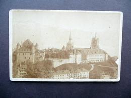 Fotografia Originale Lausanne Et La Dent D'Oche Foto C. Louvrier Carte De Visite - Foto