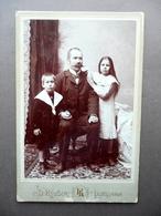 Fotografia Originale Ritratto Di Famiglia Rovsek Lubiana Glavni Zavod Fine '800 - Foto