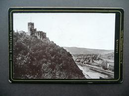 Fotografia Originale Die Rheinlande Lahneck Verdang Coblenz Fine '800 Castello - Foto