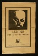 ( Economie Socialisme Coopératives Russie ) LENINE SUR LA COOPERATION 1924 Berlin - Economie