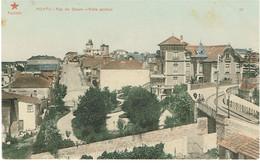 POSTCARDS--PORTO--  FOZ DO DOURO VISTA GERAL- ESTRELA VERMELHA Nº 22 ( COLORIDO ) - Porto