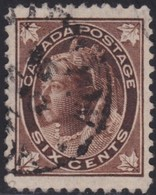 Canada     .   SG  .    147        .    O    .     Cancelled     .   /    .   Gebruikt - 1851-1902 Regering Van Victoria