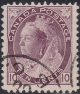 Canada     .   SG  .    164        .    O    .     Cancelled     .   /    .   Gebruikt - 1851-1902 Regering Van Victoria