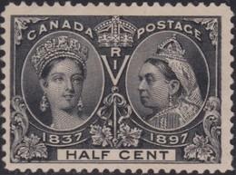 Canada     .   SG  .    121        .   (*)    .     No Gum     .   /    .   Geen Gom - Unused Stamps