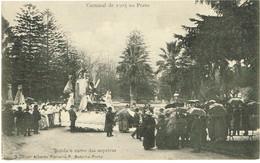 POSTCARDS--PORTO-- CARNAVAL FENIANOS-- BANDA E CARRO DAS SOPEIRAS - ALBERTO FERREIRA Nº 3 - Porto