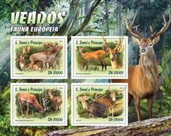Sao Tome 2016  Fauna   Deer - Sao Tome And Principe