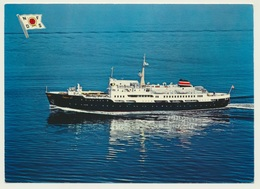 AK  MS Ragnvald Jarl Hurtigruten Express Coastal Liner - Barcos