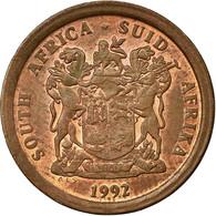 Monnaie, Afrique Du Sud, 5 Cents, 1992, TTB, Copper Plated Steel, KM:134 - Afrique Du Sud