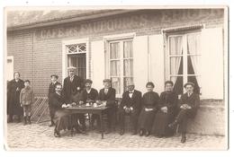 76 - CARTE PHOTO - OUVILLE-la-RIVIERE - Café Des Faubourgs Et épicerie - Famille Giffard Maurice. - Altri Comuni