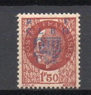 - Timbre LIBÉRATION / DECAZEVILLE N° 6 Neuf ** - 1 F. 50 Brun-rouge Type I - Cote 216 EUR - - Libération