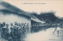 CPA:CARAVANE LIBRE ASHANGOS SAMBA (N'GOUNIÉ) - Gabon