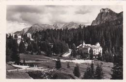 PICCOLA FOTOGRAFIA - TRENTO - DOLOMITI. HOTEL LATEMAR 1720 M. - LAGO CAREZZA VERSO M. CAMP. M.2220 - Trento