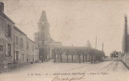 Saint-Nom-la-Breteche : Place De L'Eglise - St. Nom La Breteche