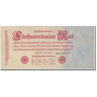 Billet, Allemagne, 500,000 Mark, 1923, KM:92, TTB+ - 500000 Mark