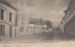 Saint-Nom-la-Breteche : La Grande-Rue Par La Grêle - St. Nom La Breteche