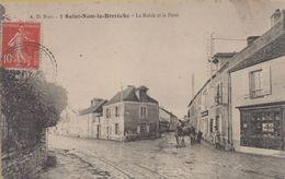 Saint-Nom-la-Breteche : La Mairie Et La Poste - St. Nom La Breteche