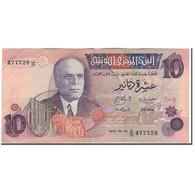 Billet, Tunisie, 10 Dinars, 1973-10-15, KM:72, TTB - Tunisie