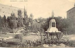 CPA - TOURNUS - JARDIN PUBLIC - France