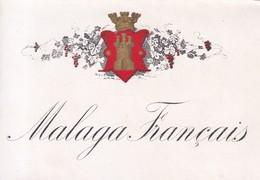 2 ETIQUETTES / MALAGA ET ALCOOL - Etiquettes