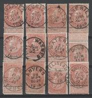 Belgique - 1893-1900 - Obl. - COB 57 - 10c - Superbe Oblitération- - 1893-1800 Fijne Baard