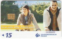 POLAND B-626 Chip Telekom - People, Couple - Used - Polen
