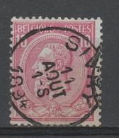Belgique - 1884-91 . Obl. - COB 46 - 10c - Oblitération - SIVRY - - 1884-1891 Léopold II