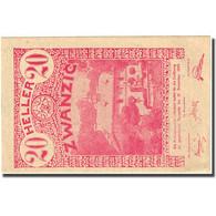 Billet, Autriche, Lilienfeld, 20 Heller, Manoir 1920-12-31, SPL Mehl:FS 523Iaj - Autriche