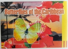 Canouan 2003** Mi.Bl.1. Butterflies, MNH [10;119] - Mariposas