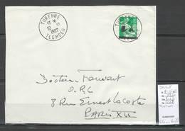 Algerie -EA - Devant De Lettre : Cachet TURENNE  - 10/62 - Algérie (1924-1962)