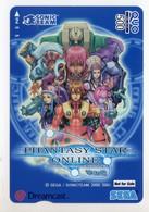 CARTE PREPAID JAPON SEGA PHANTASY STAR ONLINE - Games