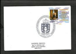 URUGUAY 2003 MANUEL FRAGA IRIBARNE, SPANISH POLITIC FDC - Uruguay
