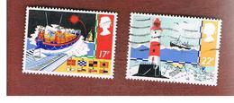 GRAN BRETAGNA (UNITED KINGDOM) -  SG 1286.1287  -  1985 SAFETY AT SEA  - USED - 1952-.... (Elizabeth II)