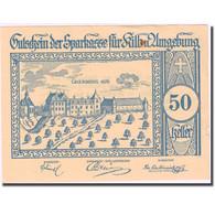 Billet, Autriche, Kilb, 50 Heller, Château 1920-12-31, SUP Mehl:FS 437IIIc - Autriche