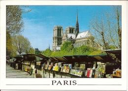 CP Paris - Les Quais Et Notre-Dame - Notre Dame De Paris